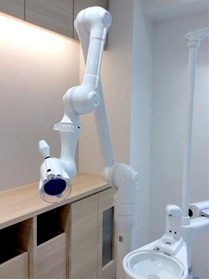 佐藤歯科クリニックの口腔外バキューム